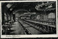 Postkarte Ansichtskarte AK PK s/w gelaufen München Hofbräuhaus Deutsches Reich