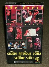 GRP Super Live In Concert (VHS) NEW