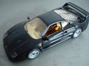 DETAIL CARS 152 FERRARI F40 BLACK.  MINT CONDIZIONI ECCELLENTI 1/43