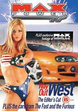 MAX POWER - WAY OUT WEST EDITORS CUT - DVD - REGION 2 UK