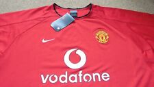 e92767705 Men s Rare Manchester United Nike Vodafone Training Shirt Size XL All Red  BNWT s