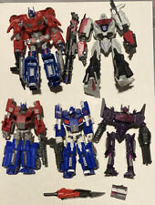 Transformers Fall Of Cybertron Optimus Prime, Ultra Magnus, Megatron, Shockwave