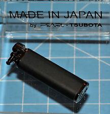 Tsubota Pearl Tall XL BOLBO Black Leather Flint Lighter Seki City Japan Old Boy☦