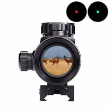 1 x 40 Red Dot Sight Airsoft Red Green Dot Sight Scope Hunting Scope 11mm 20mm R