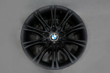 "*BMW 5 Series E60 E61 Black Matt Alloy Wheel Rim 18"" 8J ET:20 M Double Spoke 135"