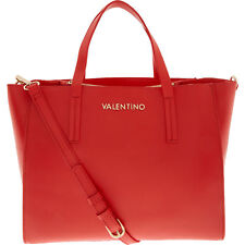 Authentic VALENTINO by Mario Valentino Russia Rosso Red Structured Tote Bag
