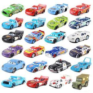 Disney Pixar Cars Lot Lightning McQueen 1:55 Diecast Model Car Toys Gift for Boy