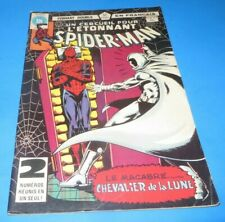 Amazing Spider-Man #123- 124 (1981) HÉRITAGE FRENCH MOON-KNIGHT FREE SHIPPING***