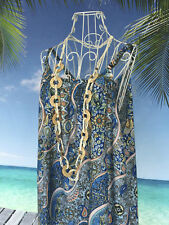 Regular Size Paisley Casual Maxi Dresses for Women