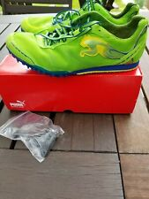 Puma Men's Tfx Distance V4 Green Spike Size 9 Track shoe. Only used for 1 day.