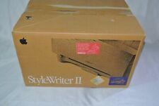 Apple StyleWriter II M2003 Printer w/ Cables & Original Box