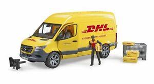 Mercedes Benz Sprinter Van DHL - Bruder 02671 Scale 1:16 - NEW RELEASE