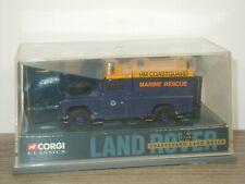 Land Rover HM Coastguard Marine Rescue - Corgi 07406 - 1:43 in Box *45371