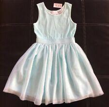 NWT The Children's Place Girls Size M (7/8) Light Blue Dress