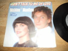 """MIREILLE MATHIEU & BARRY MANILOW """"DON´T TALK TO ME OF LOVE"""" 1988 RCA RECORDS E.U"""