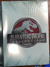 Jurassic Park: The Complete Collection All 4-Movies - DVD-6-Disc Set - Sealed-