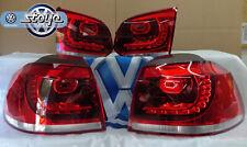 Original VW Rückleuchten LED Golf VI GTI zur Nachrüstung mit Adapter-Kabeln