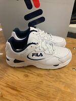 NEW Men's Fila Tri Runner Athletic Training Running Shoe White Navy Pick Size