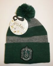 7cad638a5ca Slytherin - Harry Potter Cuff Pom Beanie Hat Winter Warm Cosplay House Green