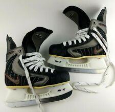 New listing Nike Ignite 7 Hockey Skates Youth Size Us 2.5 D Tuuk Blades Black White Sharp