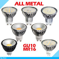 GU10 MR16 LED COB Ampoule 4W 5W 6W 7W Lampe Downlight Spot light Bulb 4x10xmétal