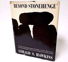 Beyond Stonehenge Gerald S Hawkins Hardcover Dust Jacket 1973