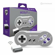 New Bluetooth Wireless Scout Premium SNES Controller - SNES, PC, Mac, Android