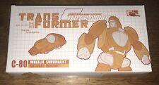 YOM-G Transformer C-80 Survivalist Super Alloy Masterpiece Wheelie Die Cast US