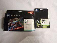 HP 564 XL Black & Tri-Color Photo Value Pack