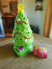 FISHER PRICE LOVING FAMILY HOME FOR THE HOLIDAYS DOLLHOUSE--CHRISTMAS TREE-WORKS