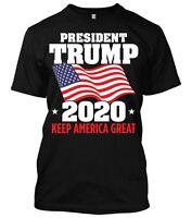 President Donald Trump 2020 MAGA Liberal Keep America Great New Mens T-shirt