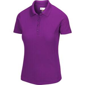 Greg Norman Womens Dry Protek Micro Pique Polo Golf Shirt - New 2020