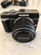 Olympus PEN E-PL1 12.3MP Digital Camera - Black (Kit w/ ED 14-42mm Lens)