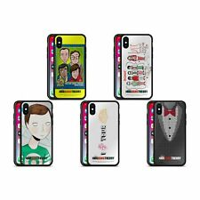 THE BIG BANG THEORY GRAPHICS ARTS 2 BLACK HYBRID GLASS CASE FOR iPHONE PHONES