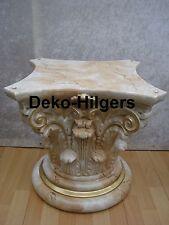 Säule Stuckgips Dekosäule Podest Tisch Wohnen Möbel Säulen 1027 Optik Marmor 124