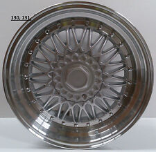 19 inch 5x112 alloys wheels to fit Mercedes A B C E class hyper silver pol lip