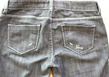 $88 Womens GUESS Sexy Indigo Blue Dark Wash Jeans/Pants Sz 26, 17 x 38.5, P801