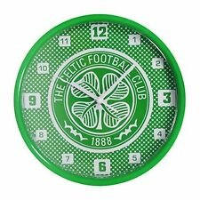 Celtic FC Bullseye Wall Clock Official Licensed Merchandise Football Fan Gift