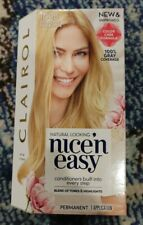Clairol Nice N Easy Hair Color Care Permanent 10PB Extra Light Pale Blonde