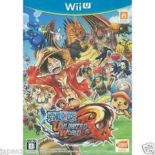 Used Wii U One Piece: Unlimited World R NAMCO JAPANESE VERSION IMPORT NINTENDO