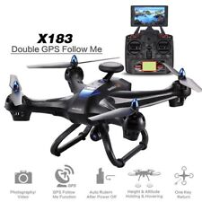 RC Drone X183 2MP HD Camera WiFi FPV GPS Brushless 6-Axles Quadcopter Device