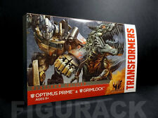 Transformers AOE Voyager Class Optimus Prime Grimlock 2 Pack Set (Platinum Ed)