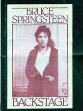 Bruce Springsteen 1978 Darkness On The Edge - satin backstage pass - Red
