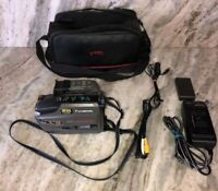 panasonic palmcorder model pv-d300d with chargers,battery and case,works ship24h