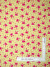 Pink Crabs Hearts Toss Yellow Cotton Fabric Timeless Treasures C5461 By The Yard