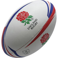 Clearance Line New Gilbert Rugby England Supporter Rugby Ball Size 4