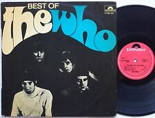THE WHO Best Of Lp ORIGINAL NZ Sleeve 1968 UK Mod/Garage New ZEALAND Vinyl MONO