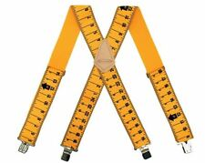 McGuire-Nicholas 2-Inch Wide Ruler Suspenders, Durable, One Size Fits All !!