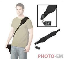 Profi Tragegurt Anti-Rutsch Kamera Gurt Schultergurt für DSLR u. SLR Neopren 037