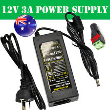 AU Plug 12V 3A Power Supply Charger Adaptor For LED Strip Light RGB /3528 /5050